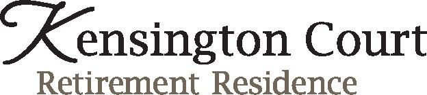 Logo of Kensington Court Retirement Residence in Windsor