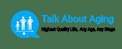 talk about aging medium logo