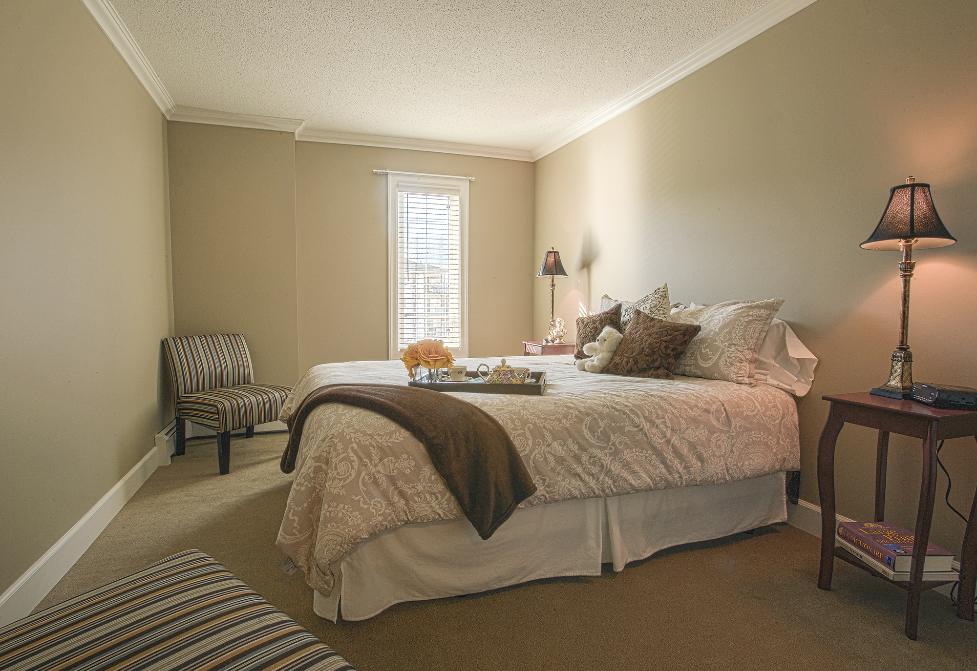 Image of a suite at Cherry Park Retirement Residence in Penticton