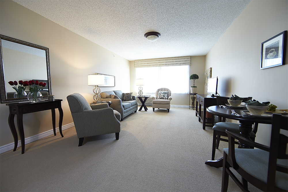 Image of a suite at Doon Village Retirement Residence in Kitchener