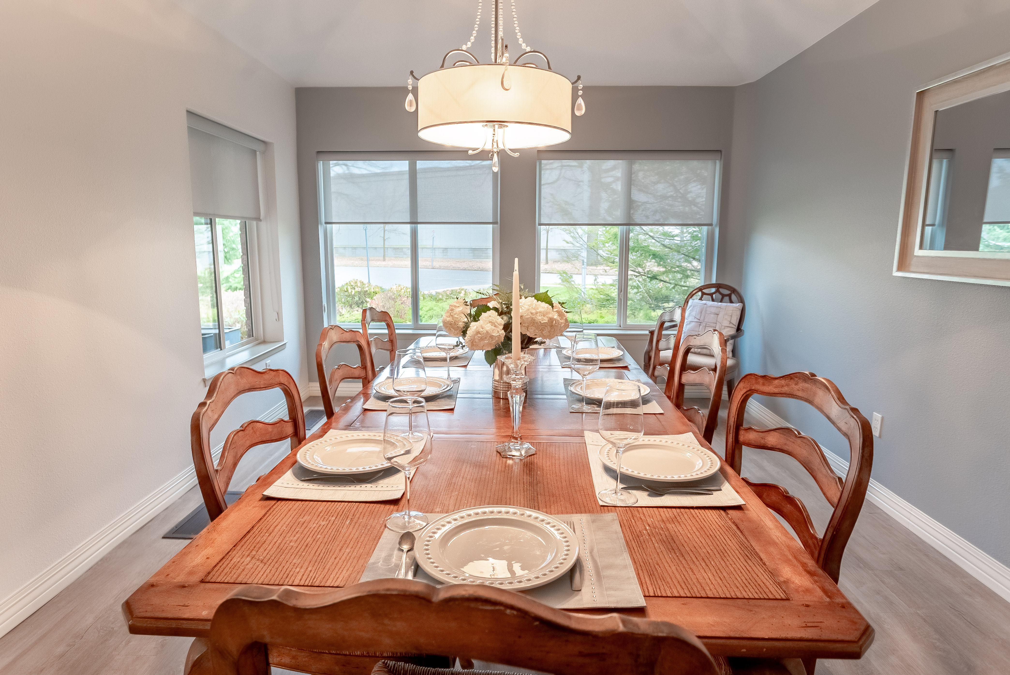 Private dining room at Fairwinds Lodge Retirement Residence