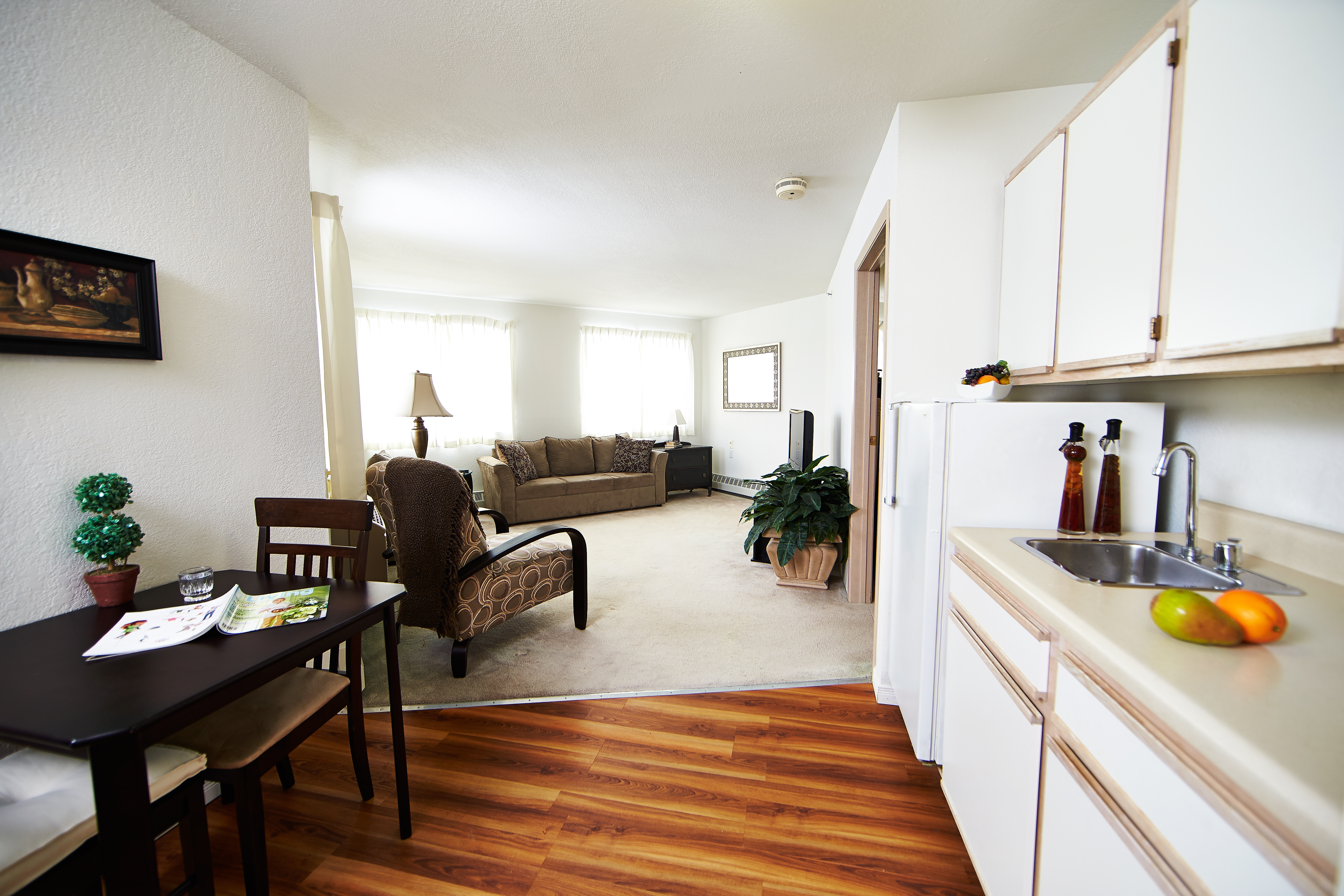 Image of a suite at Kensington Court Retirement Residence in Windsor